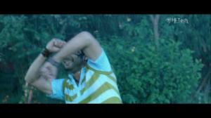 Aryan Sigdel dancing in rain of Nepali Movie